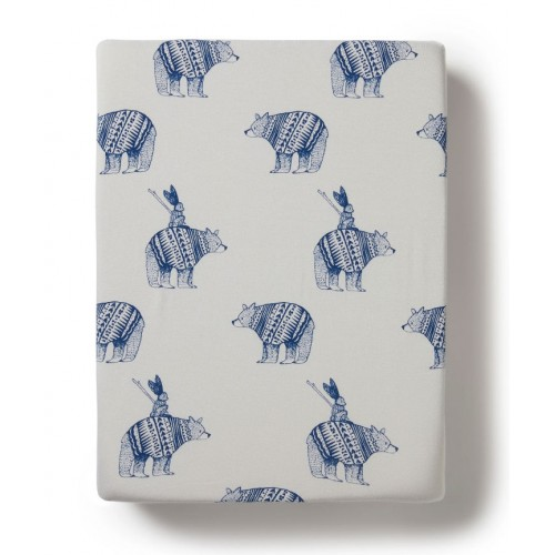 Wilson and Frenchy Bassinet Sheet Little Adventures