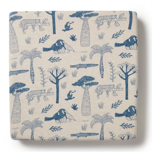 Wilson and Frenchy Cot Sheet Jungle Mania
