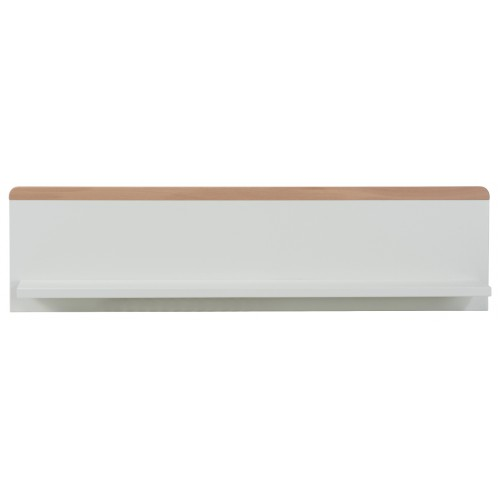 Babyrest Poppy Wall Shelf White Beech