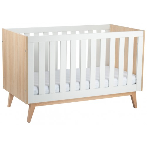 Babyrest Tommi Cot Oak White