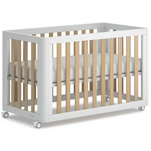 Boori Turin Compact Cot and Mattress Barley Almond