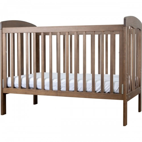 Grotime Pearl Cot and Mattress Mountain Ash