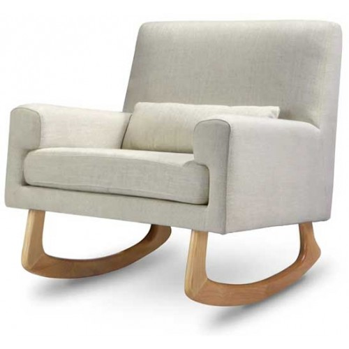 Sleepytime Rocker with Perch Oatmeal with Light Legs