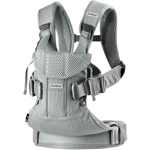 Baby Bjorn Baby Carrier One Air 3D Mesh Silver