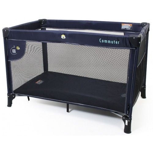 Veebee Commuter Travel Cot Navy