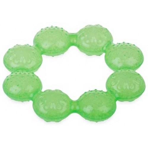 Nuby Soothing Ring Teether Green