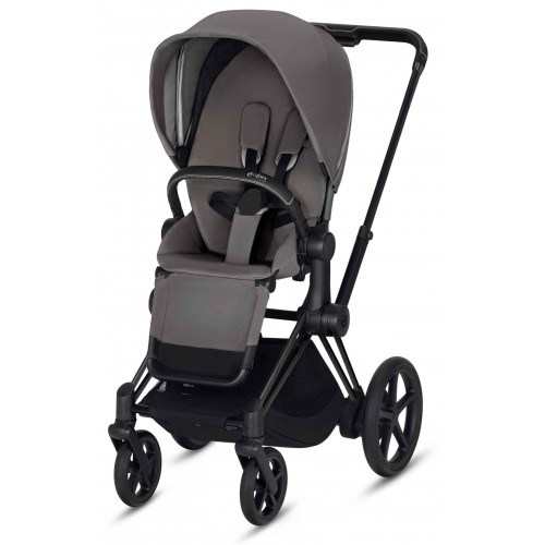 Cybex ePriam Black Manhattan Grey