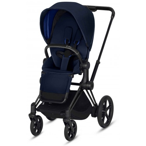 Cybex ePriam Black Midnight Blue