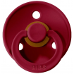 Bibs Pacifier 2 Pack Ruby