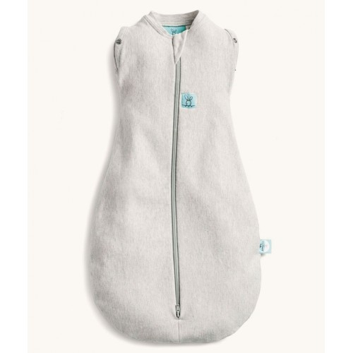 ErgoPouch Cocoon Swaddle Bag 0.2Tog Grey Marle