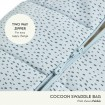ErgoPouch Cocoon Swaddle Bag 2.5 Tog Clouds