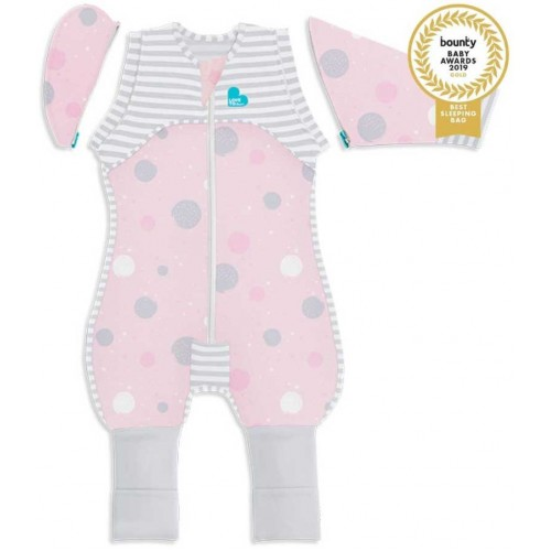 Love To Dream Swaddle Up Lite Transition Suit Pink