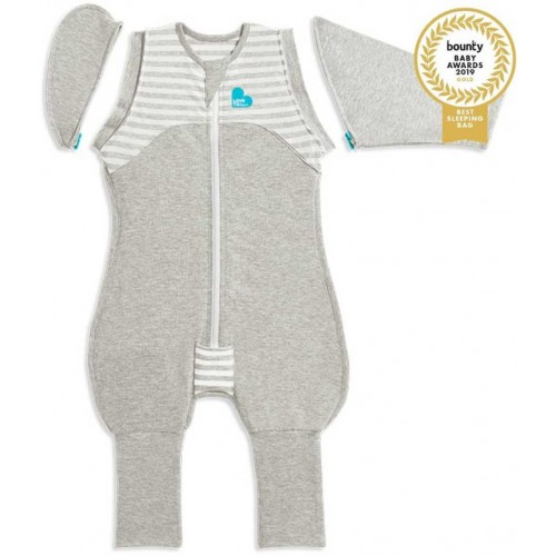 Love To Dream Swaddle Up Original Transition Suit Grey