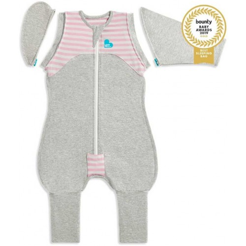Love To Dream Swaddle Up Original Transition Suit Pink