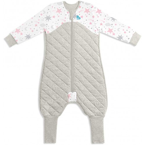 Love To Dream Sleep Suit 3.5 Tog White Pink