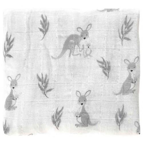 Mister Fly Muslin Wrap Kangaroo
