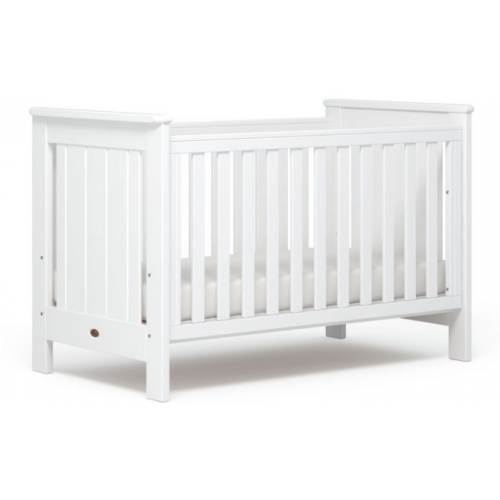 Boori Plaza Cot Bed White