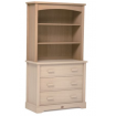 Boori Bookcase Hutch Almond