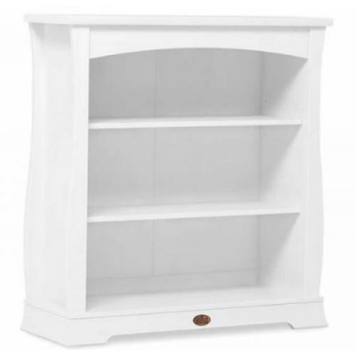 Boori Sleigh Bookcase Hutch White