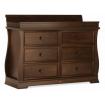 Boori Sleigh 6 Drawer Dresser English Oak