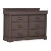 Boori 6 Drawer Dresser Mocha