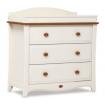 Boori Provence 3 Drawer Dresser Honey Ivory