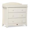 Boori Provence 3 Drawer Dresser Ivory
