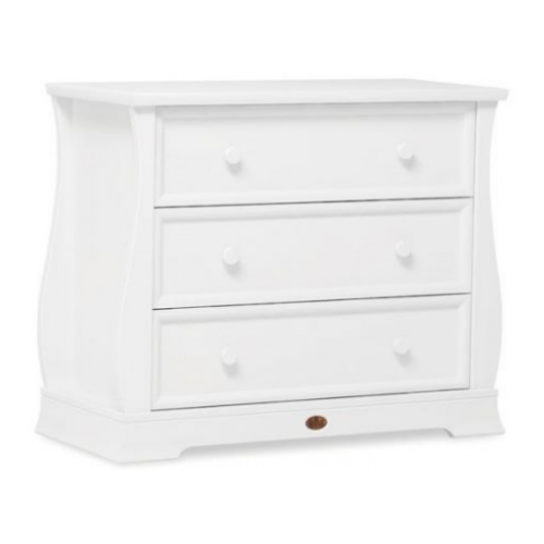 Boori Sleigh 3 Drawer Dresser White