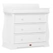 Boori Sleigh 3 Drawer Dresser White