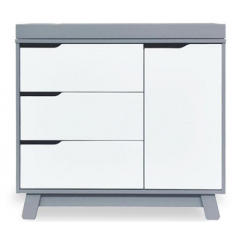 Babyletto Hudson Dresser Grey White
