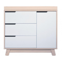 Babyletto Hudson Dresser Washed Natural and White