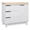 Babyletto Hudson Dresser White Washed Natural