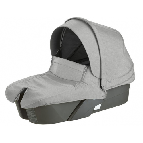 Stokke Xplory Carry Cot Grey Melange