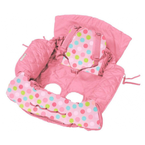 Playette Trolley & Highchair Cover Pink