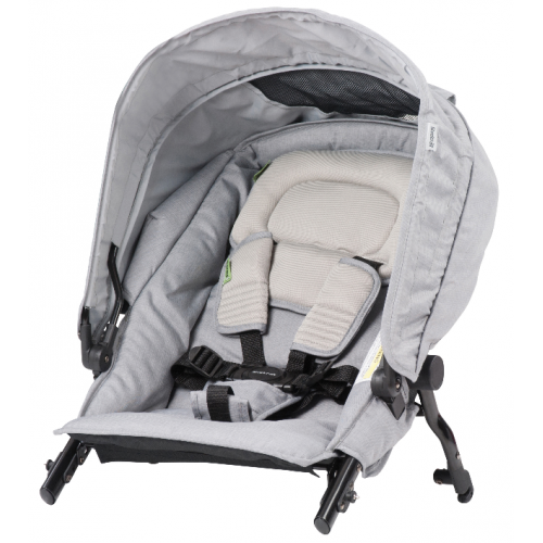 Steelcraft Strider Compact Deluxe Second Seat Grey Linen