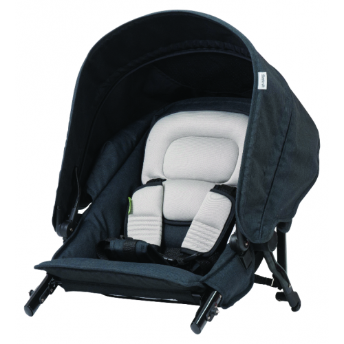 Steelcraft Strider Compact Deluxe Second Seat Black Linen