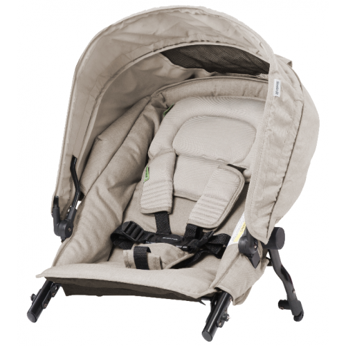 Steelcraft Strider Compact Deluxe Second Seat Natural Linen