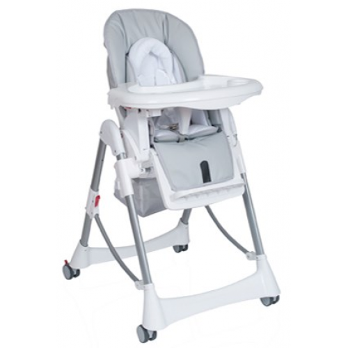 Steelcraft Messina Deluxe High Chair Silver