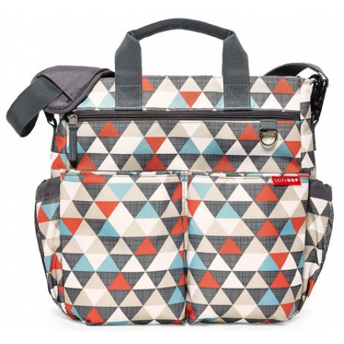 Skip Hop Duo Signature Nappy Bag Triangles