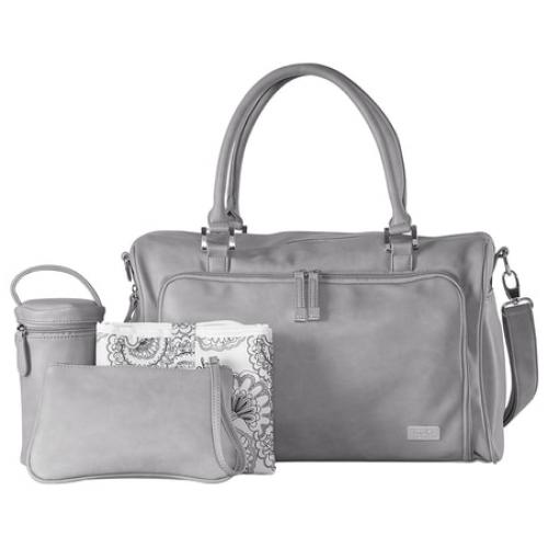 Isoki Double Zip Satchel Nappy Bag Portsea