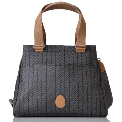 Pacapod Richmond Nappy Bag Charcoal