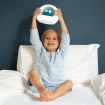 Zazu Lou the Owl Night Light Blue