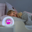 Zazu Lou the Owl Night Light Pink