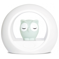 Zazu Lou the Owl Night Light Grey