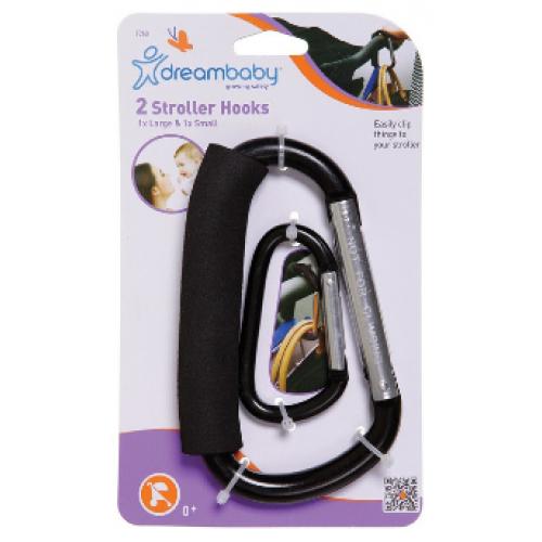 Dreambaby 2 Stroller Hooks