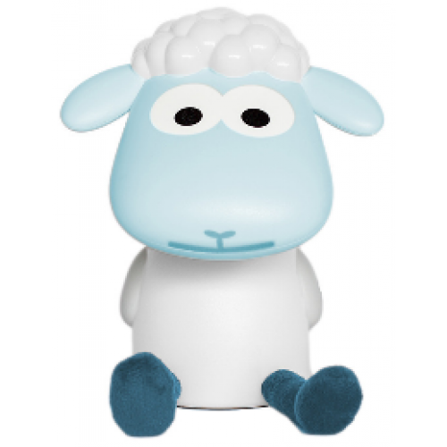 Zazu Fin the Sheep Reading Light Blue