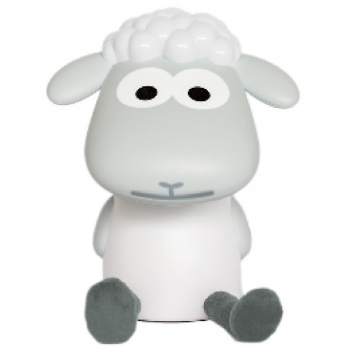 Zazu Fin the Sheep Reading Light Grey