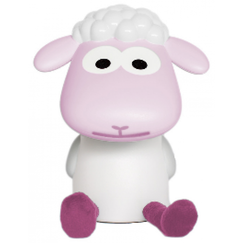 Zazu Fin the Sheep Reading Light Pink