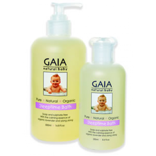 Gaia Natural Baby Sleeptime Bath Wash 500ml