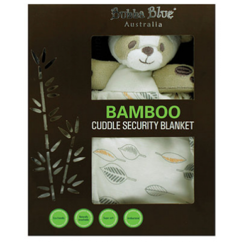 Bubba Blue Bamboo Cuddle Security Blanket Leaf